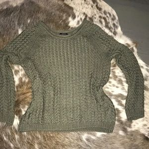 Barely worn olive green sweater